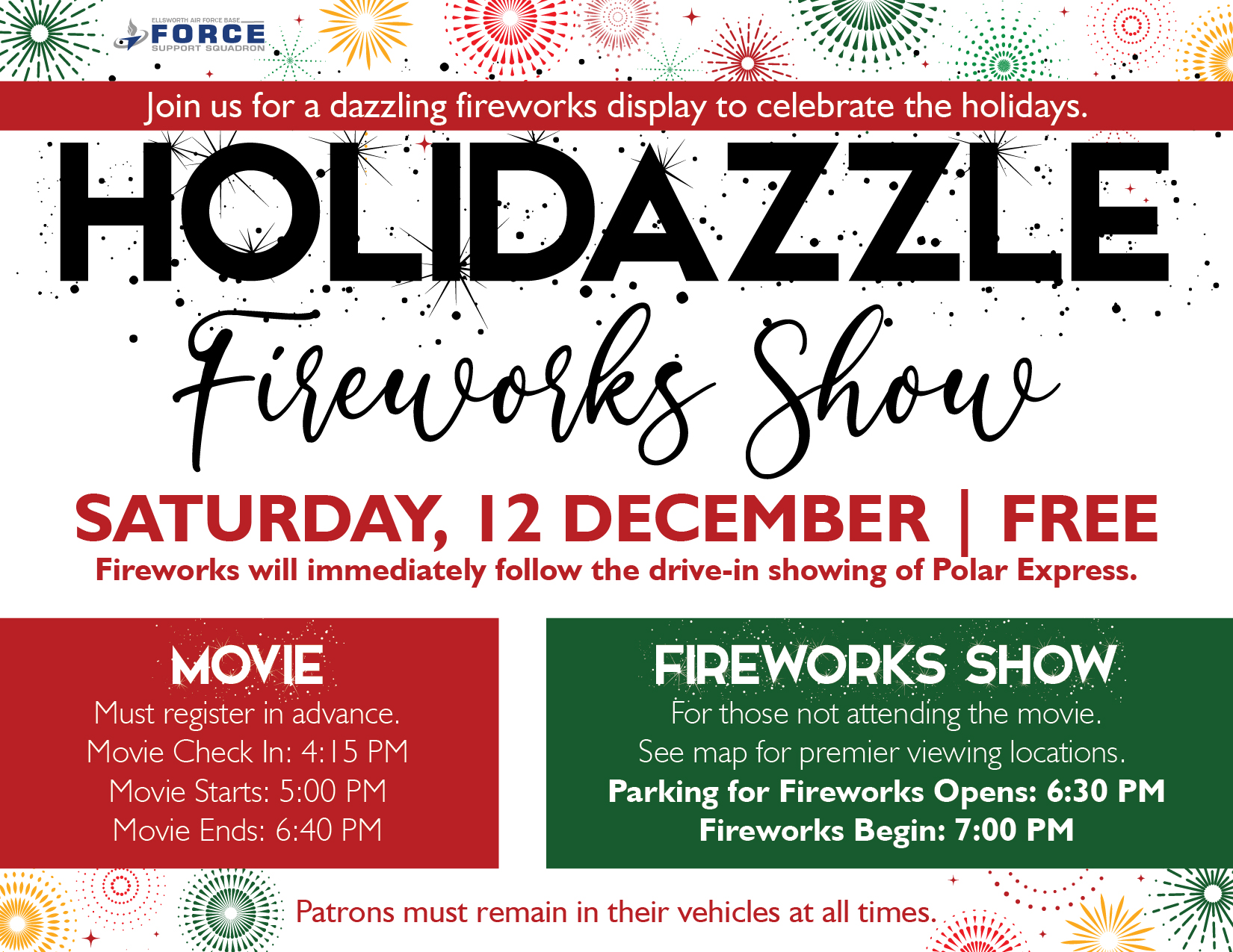 Holidazzle Fireworks Show 01