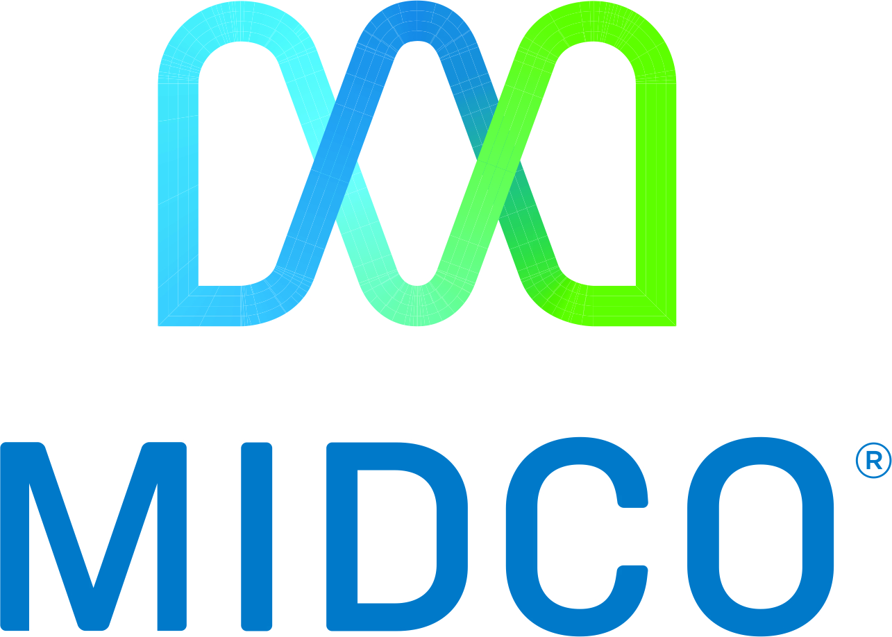 Midco logo 4C stacked