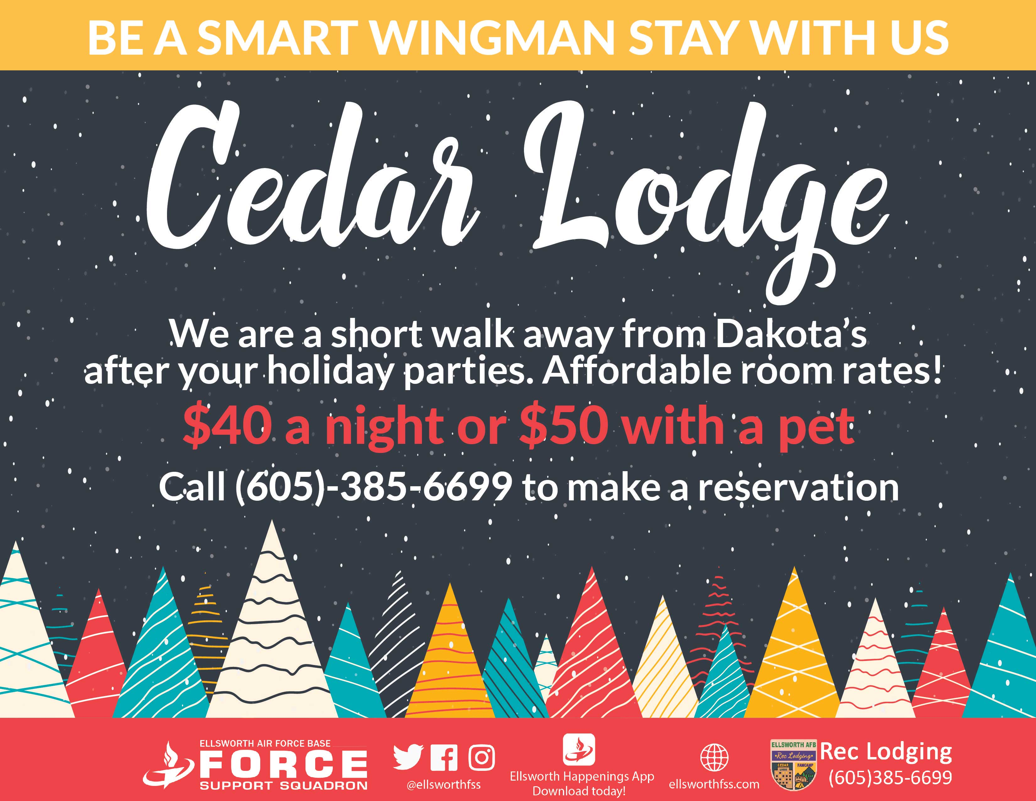 ODR Cedar Holiday Rooms Available 01 web