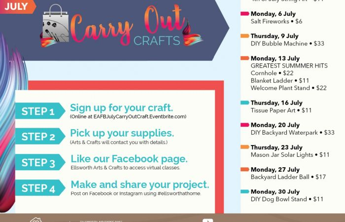 AC - Virtual Carry Out Crafts July list-01